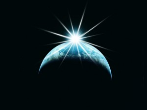 space_earthwith star