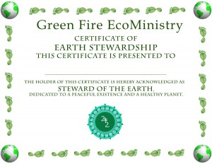 GreenFireEarthStewardCertificate